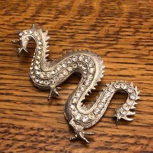 Vintage Serpent Broach